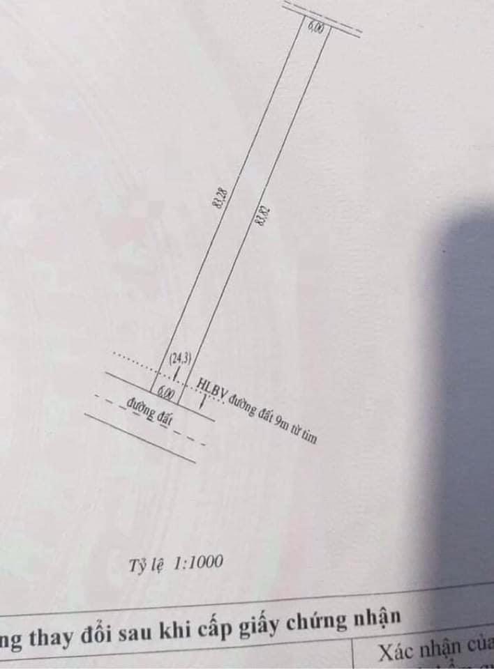 Bán đất xã Đồng Nơ giá 820tr dt 500,7m2