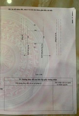 Bán đất xã Thanh Bình giá 1,2 tỷ dt 15×20 full tc