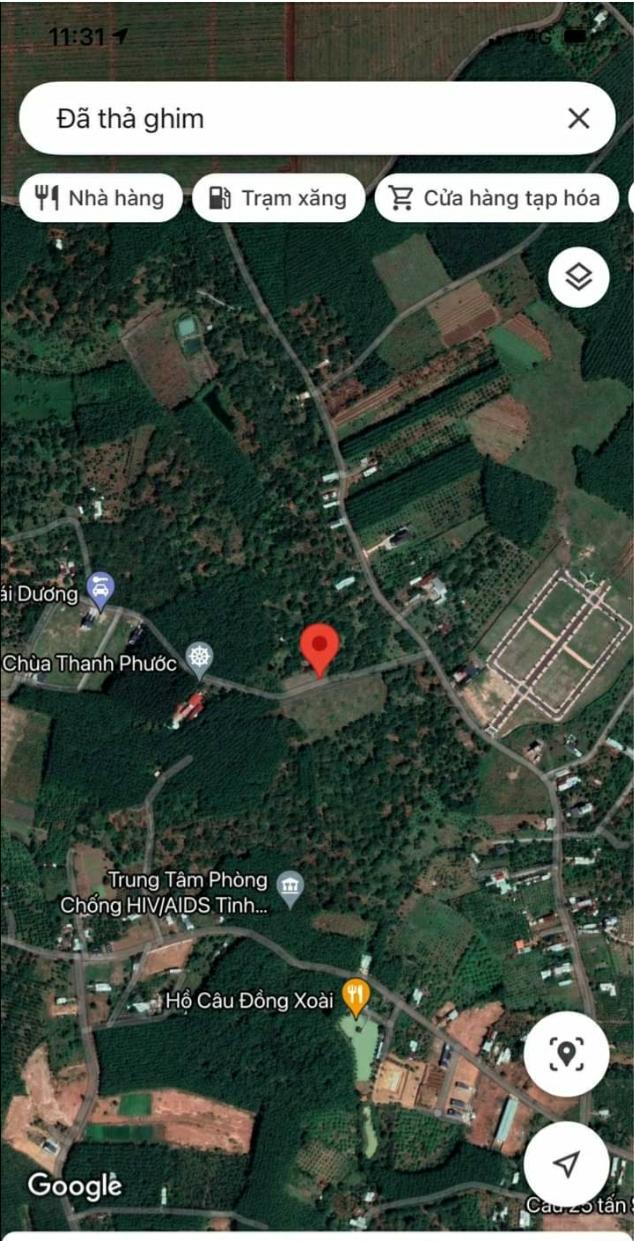 Bán đất xã Tiến Thành giá 670tr dt 6×25×80tc