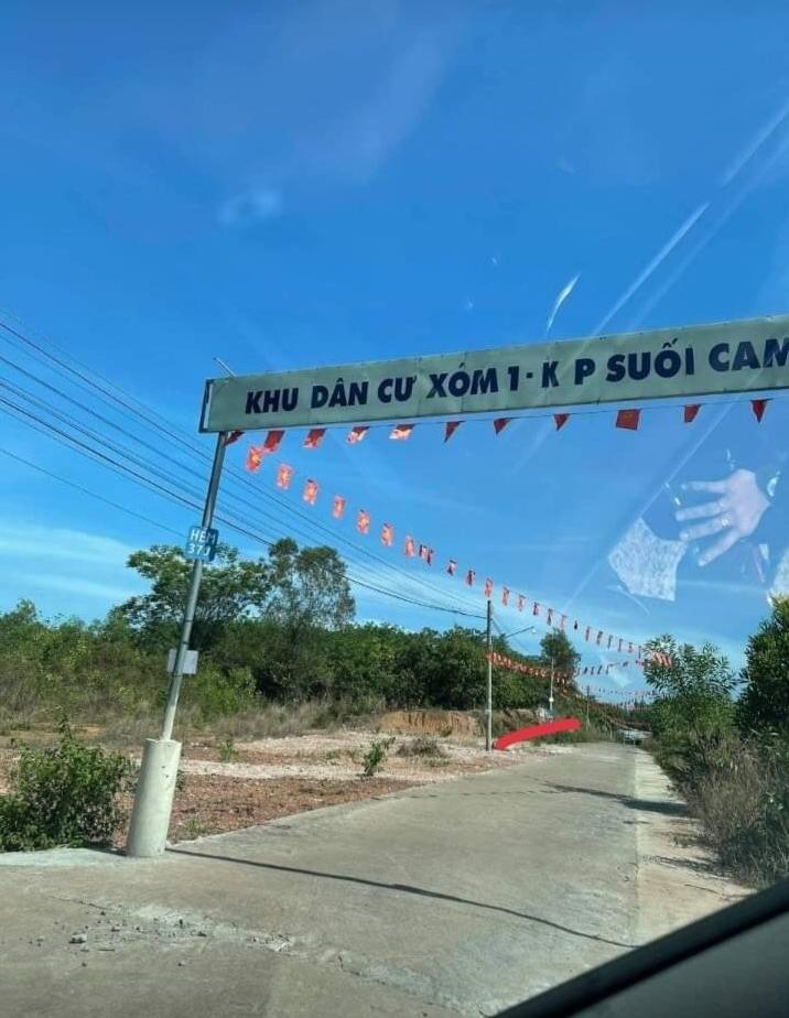 Bán đất ấp Suối Cam xã Tiến Thành giá 1 tỷ 450tr dt 12×32×60tc